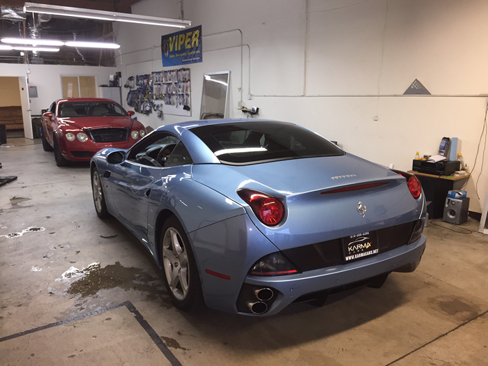 Ferrari Vinyl Wrap 001 San Diego Window Tinting And