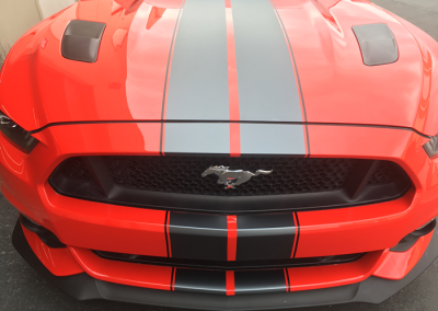 2016 Mustang Racing Stripes