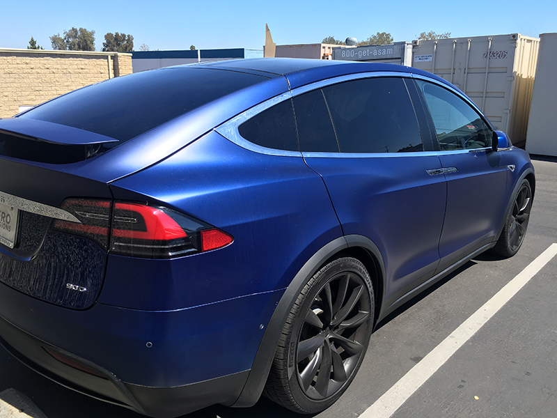 Tesla Window Tint