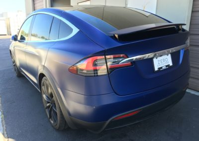2017 Tesla Model X Full Stealth PPF Wrap
