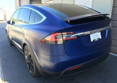 2017 Tesla Model X Full Stealth PPF Wrap