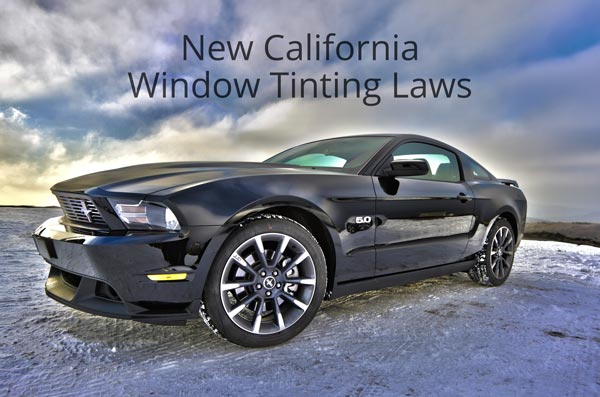 New car window tinting law in effect in California