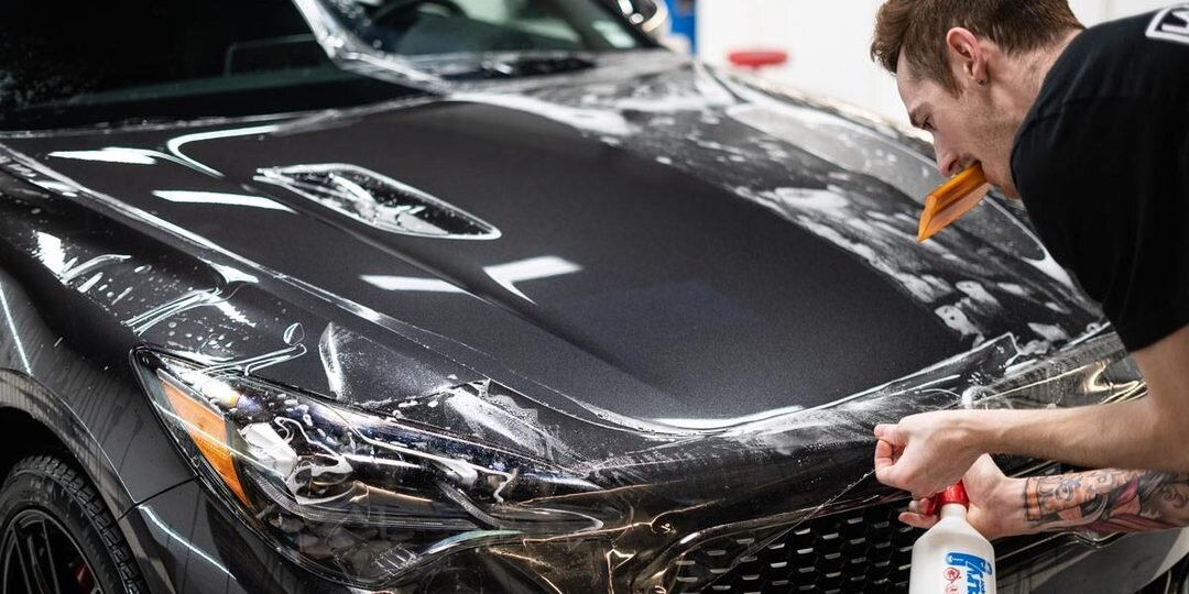 Protect your car paint with an XPEL clear bra