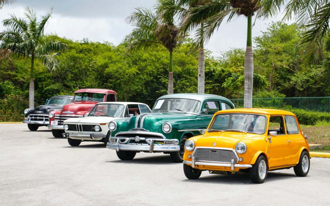 five cars
